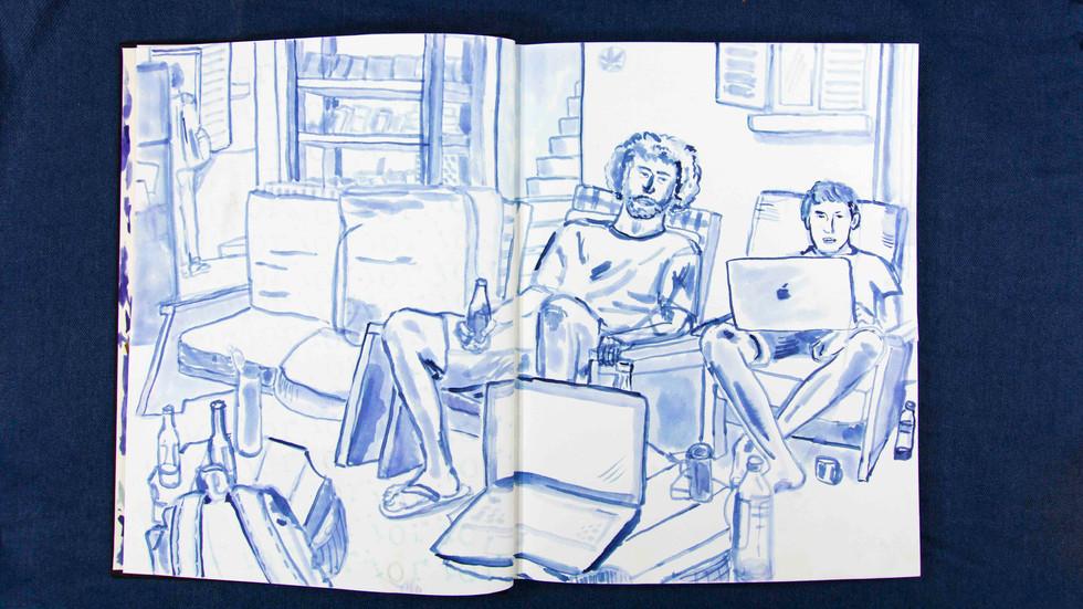 2018 Sketchbook in progress