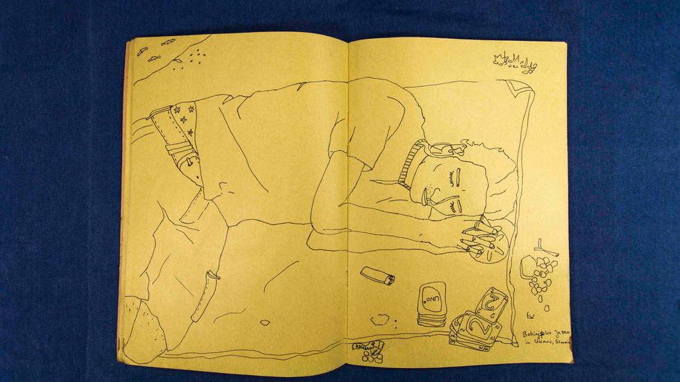 2016 Sketchbook No. 37