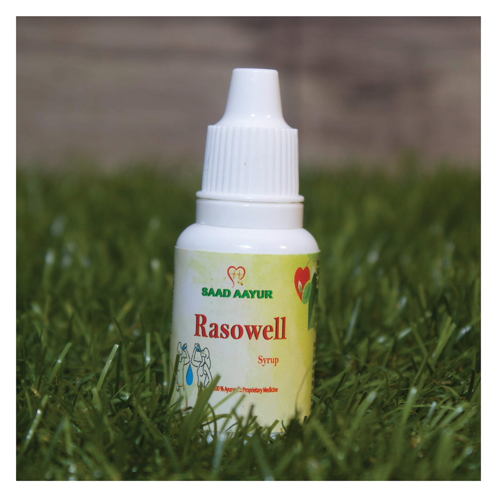 Rasowell is an Ayurvedic medicine made from the goodness of neem and tulsi and acts as a natural immunity booster.