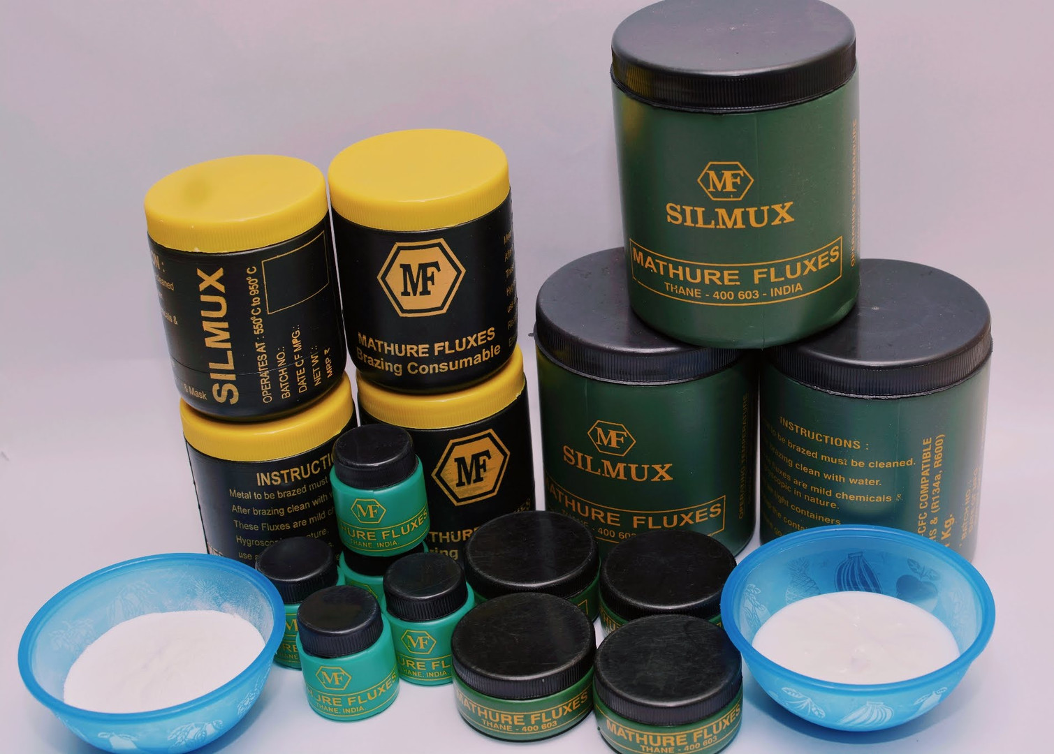 Brazing and soldering fluxes manufactured by Mathure Metal Works