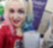 League of Enchantment Team Leader Danielle as Harley Quinn