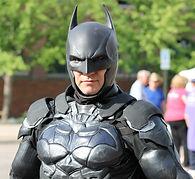 League of Enchantment President, Shamus, as Batman