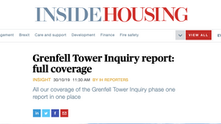 Grenfell Inquiry Report Coverage