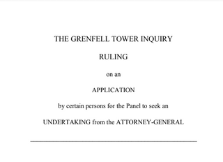 Grenfell Tower Inquiry ruling
