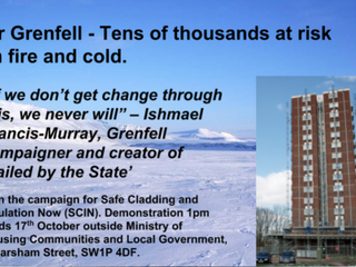 We Are Supporting the Fuel Poverty Action 17th October Day of Action
