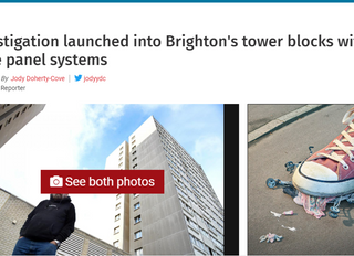 Eight Brighton Large Panel System Tower Blocks Under Investigation