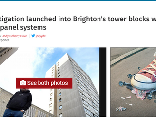 Eight Brighton Large Panel System Tower Blocks Under Investigation