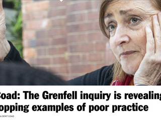 Emma Dent Coad - Grenfell Inquiry Highlights Failings