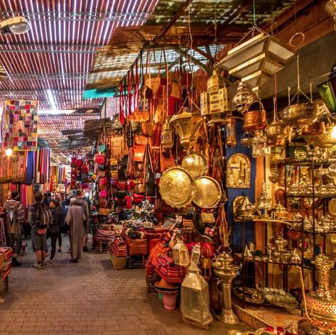 Trésors des souks de Marrakech