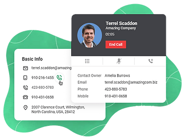 Act-Call telephony Zoho Bigin CRM.png