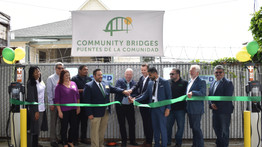 New Electric Vehicles and Public Charging Stations Celebrated by Community Bridges Lift Line Program