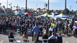 Community Celebrates Coastal Rail Trail Groundbreaking