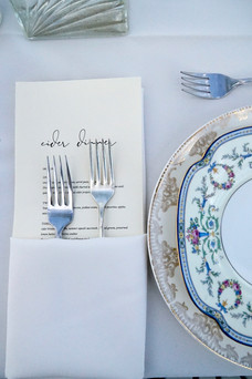 mismatched china elegant wedding western mass
