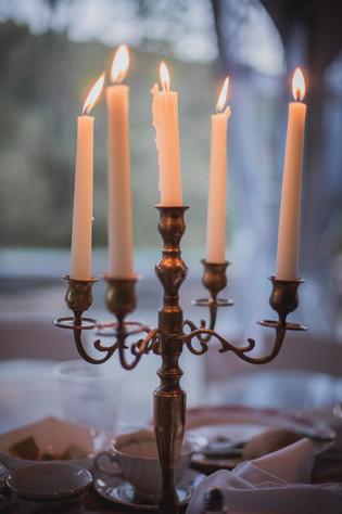 Candelabra Sweetheart Table