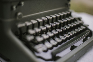 Typewriter Guest Book Wedding