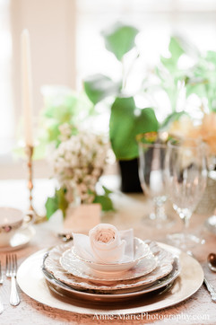 Classic Sophisticated China Table Settings