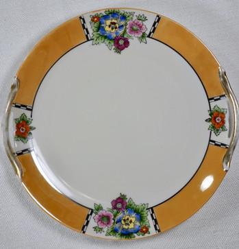Vintage Mismatched Salad Plates