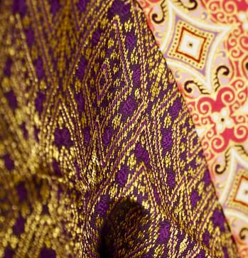 Bohemian Thai Silk Fabrics