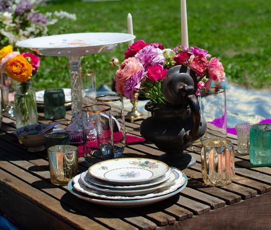 Bohemian Picnic Outdoor Event