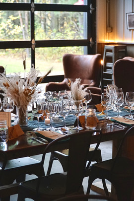 Dinner Lounge Wedding Area