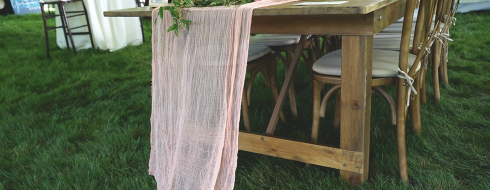 Flowy Cotton Table Runners