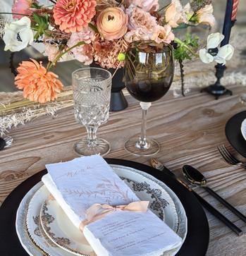 Crystal Goblet and Smoky Gray Wine Glass