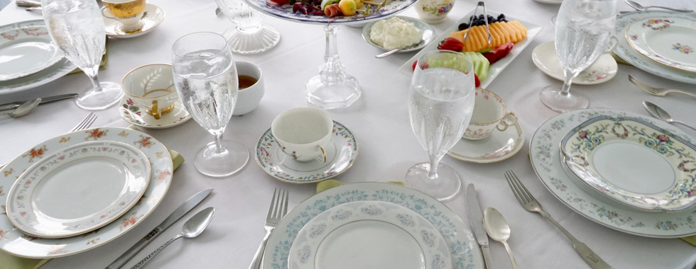 Silverware Tablesettings