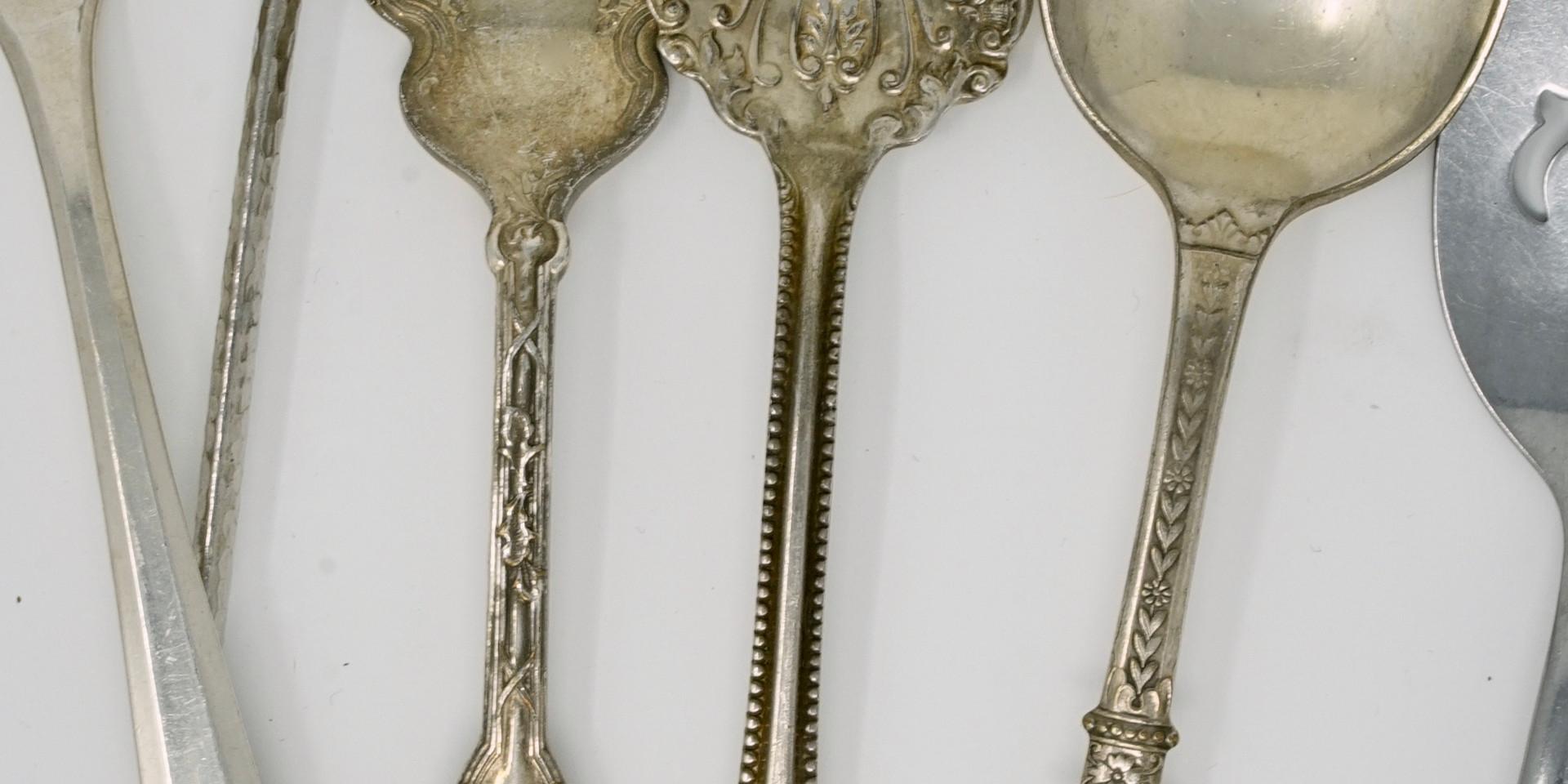 Vintage Mismatched Silverware