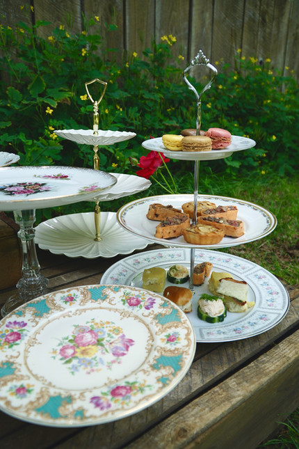 Three Tiered Dessert Stands and Cake Stands