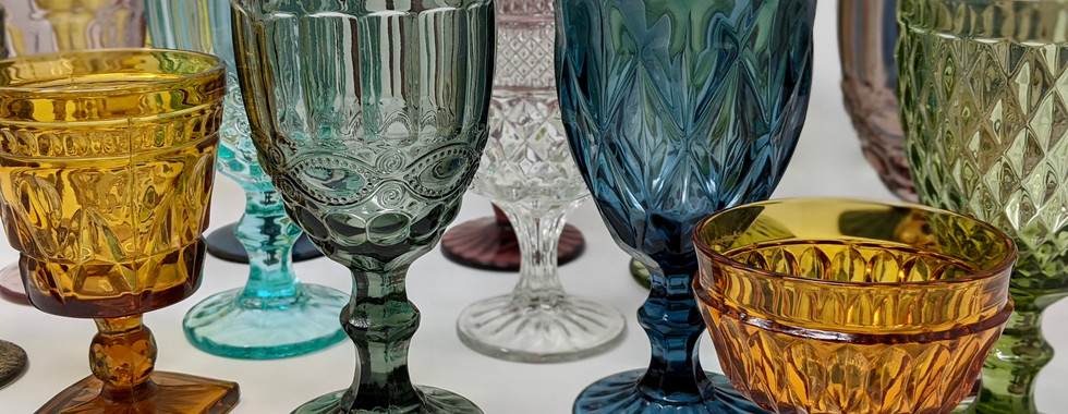 Colorful Goblets