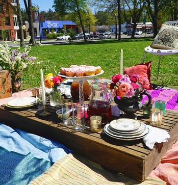 Boho Outdoor Picnic Lounge Fabrics