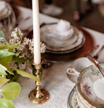 Brass Candlestick Holders