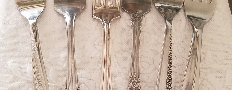 Mismatched Silverware