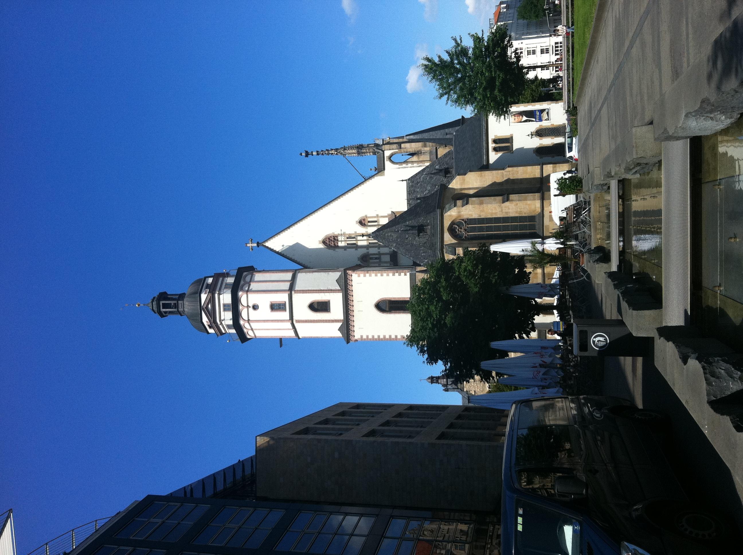 バッハが活躍したライプツィヒの聖トーマス教会