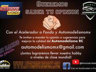 Queremos saber tu opinión