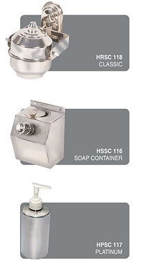 SS Soap Container All Type
