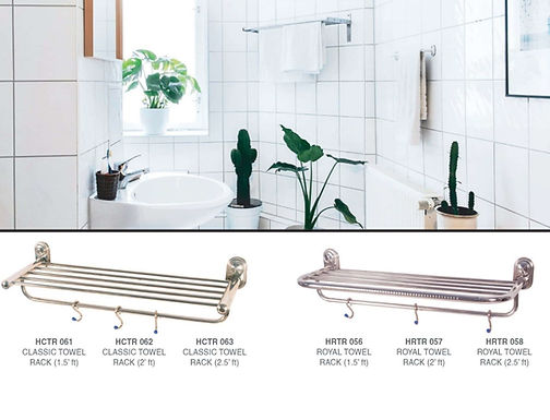 SS Towel Rack with All Size and Design