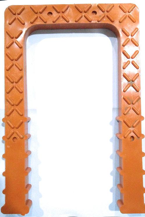 PVC Foot Steps - Orange