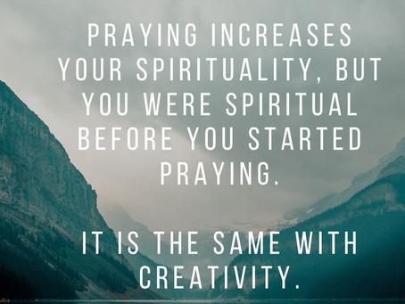 Creating Creates Creativity