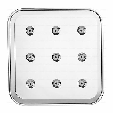 ABS Overhead Mist Square Shower - 5 x 5