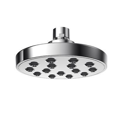 ABS Overhead Mist Round Shower - 5""