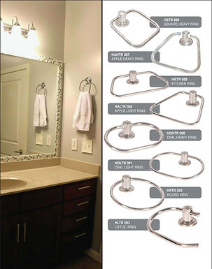 SS Towel Ring All Design