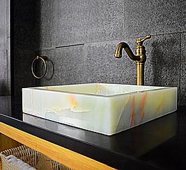 Square Onyx Sink