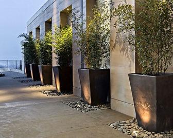 Concrete Tapered Planter