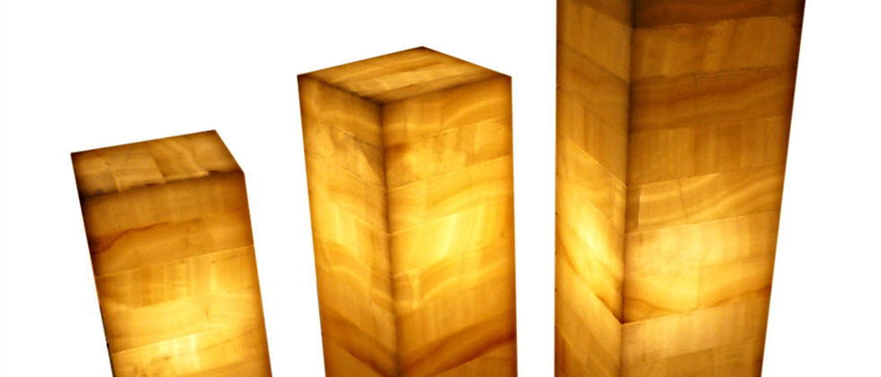 ONYX SQUARE TABLE LAMP