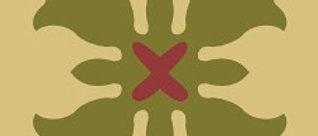 TULIP I 7-3/4 in. x 7-3/4 in. Cement Tile (4.30 sq. ft. / case)