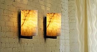 Onyx Wall Lamps