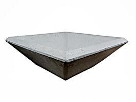 Concrete Wok Bowl Planter