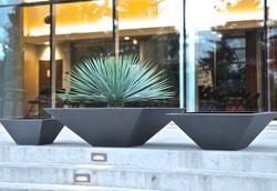 Square Concrete Bowls