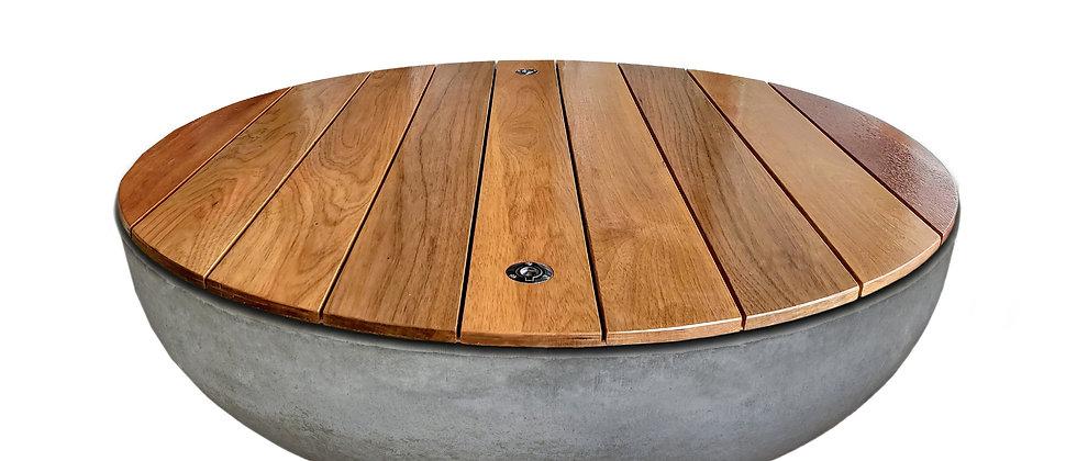 "48"" Round Hardwood Tabletop"